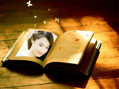 Khung ảnh sách ấn tượng