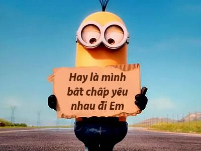 Thông điệp Minion, Chế ảnh Minio