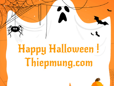 Tạo thiệp Halloween online