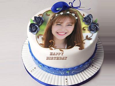 In hình lên bánh sinh nhật trực tuyến