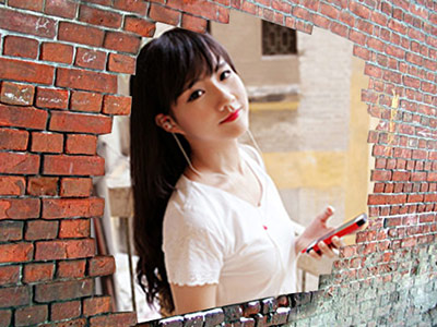 Hiệu ứng khung ảnh tường