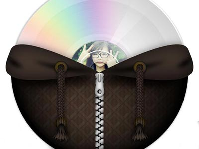 Khung ảnh đĩa cd đẹp