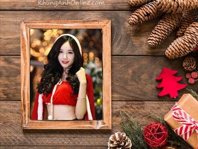 Tạo khung ảnh giáng sinh, thiệp giáng sinh 2019