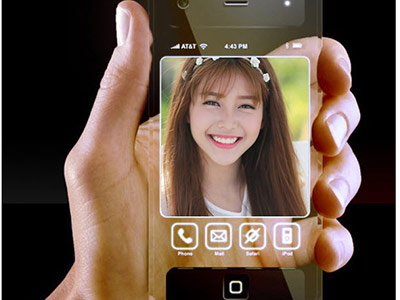 Ghép ảnh với khung ảnh Iphone trong suốt
