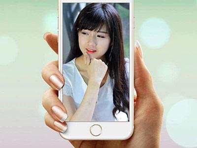 Khung ảnh iphone 6 cá tính