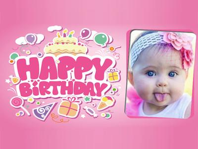 Tạo khung ảnh sinh nhật trực  tuyến