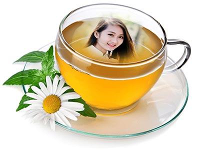 Khung ảnh tách trà đẹp