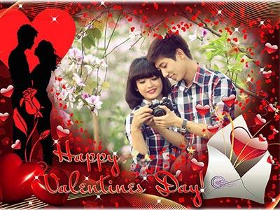 Ghép ảnh vào khung valentine online đẹp