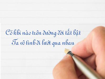 Tạo status với bút viết tay