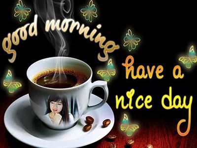 Tách cafe chào ngày mới đẹp