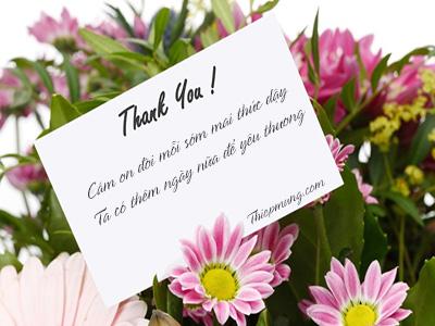 Tạo thiệp hoa cảm ơn trực tuyến