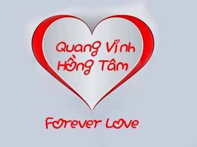 Viết tên lên thiệp valentine, thiệp tình yêu