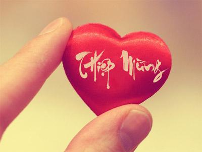 Viết tên lên hình trái tim