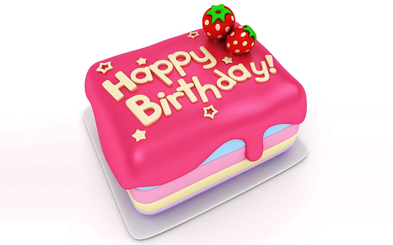 Bộ hình nền bánh sinh nhật đẹp và độc đáo