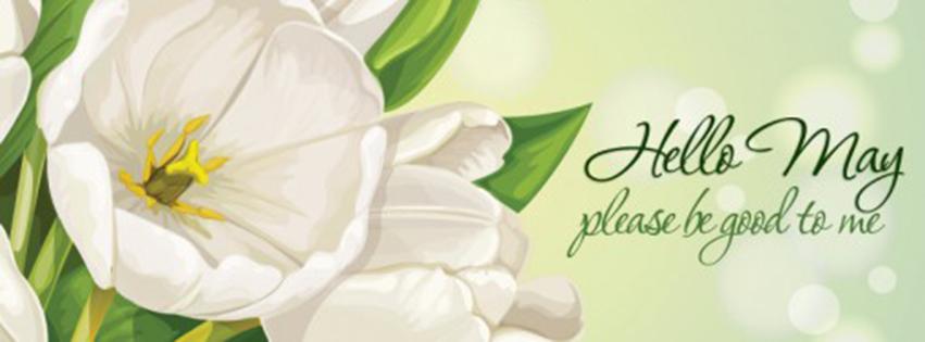 Cover facebook chào tháng 5 đẹp- Hình 5