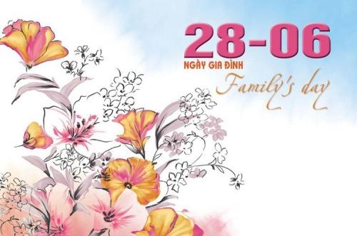 15 tấm thiệp đẹp vô cùng ý nghĩa chúc mừng ngày gia đình Việt Nam 28/6- Hình 9