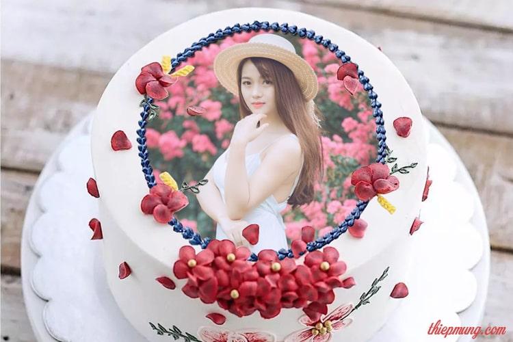 Bánh sinh nhật in hình trực tuyến đẹp