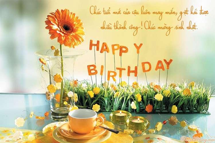Thiệp sinh nhật đẹp - Viết lời chúc lên thiệp sinh nhật online