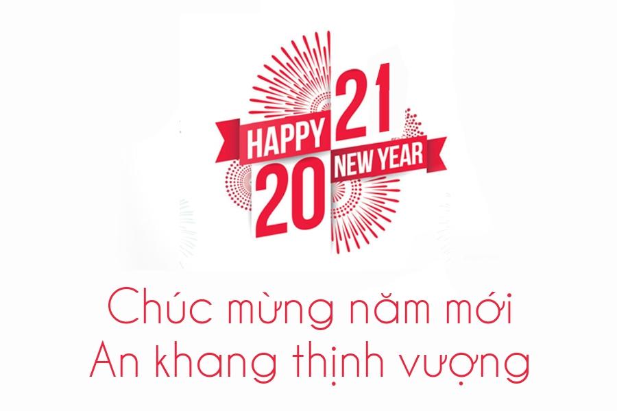 Tạo thiệp chúc mừng năm mới 2021