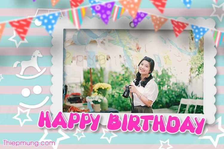Thiệp video chúc mừng sinh nhật online